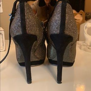 Brian Atwood glitter boots size 6